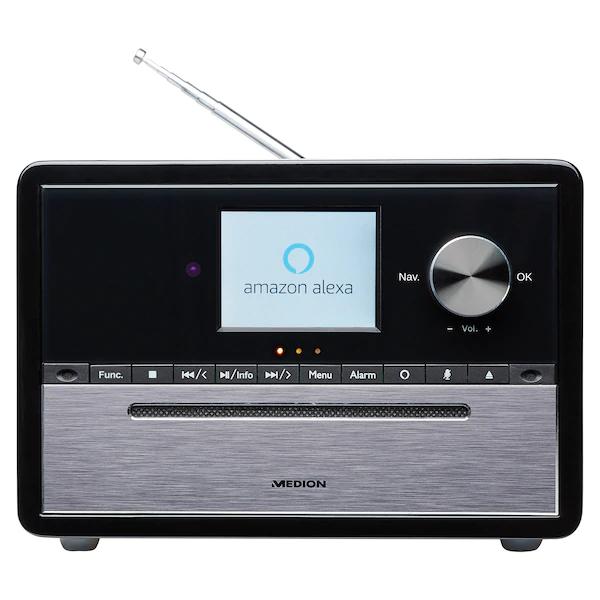 "MEDION Kompaktanlage ""S64007"" (DAB+, CD-Player, Amazon Alexa, MP3, Spotify Connect, Amazon Music, Bluetooth, WLAN, PLL UKW Radio) [MEDION]"