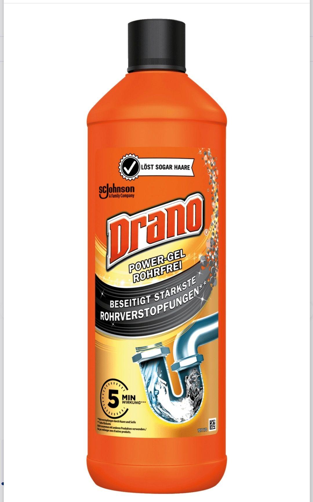 Drano (Mr Muscle) Power Gel Rohrfrei Abflussreiniger (Nimm 4, Zahl 3)