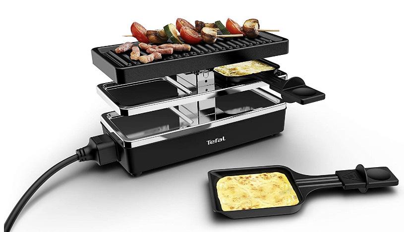 [Penny] Tefal RE2308 Plug & Share Raclette   2 Personen   erweiterbar bis 5 Geräte