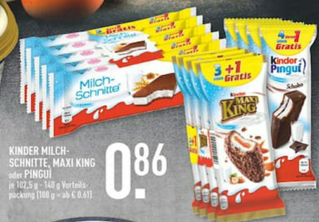 Milchschnitte 5stk eins gratis für 0,86€