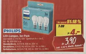 3er-Pack Philips LED-Leuchtmittel