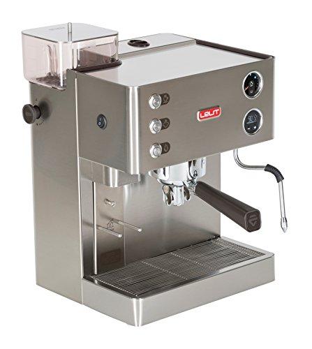 Espressomaschine mit integrierter Mühle: Lelit Kate PL82t