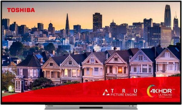 Toshiba 49UL5A63DG LED-TV 124,5 cm 49 Zoll UHD 4K A+ - Fernseher (Schwarz) [Euronics]