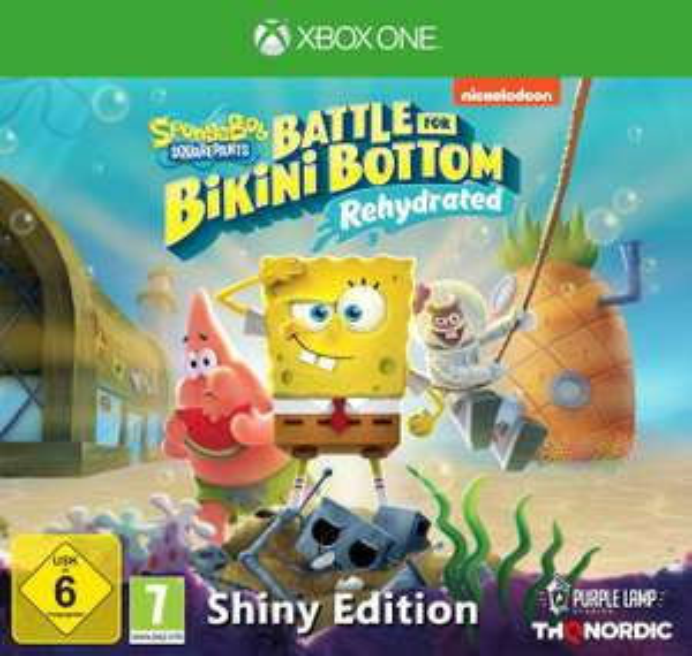 Spongebob SquarePants: Battle for Bikini Bottom - Rehydrated - Shiny Edition [Xbox One] [Amazon]