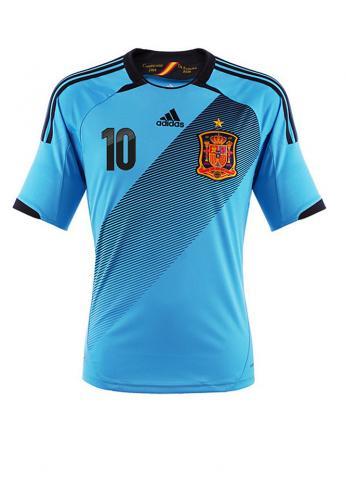 Adidas - Spanien Away Trikot 2012/2013  /// Blau ///  S/M/L/XL/XXL ----> nur 39,95 €- 10,00€ Newslettergutschein = 29.95 € ohne Versandkosten
