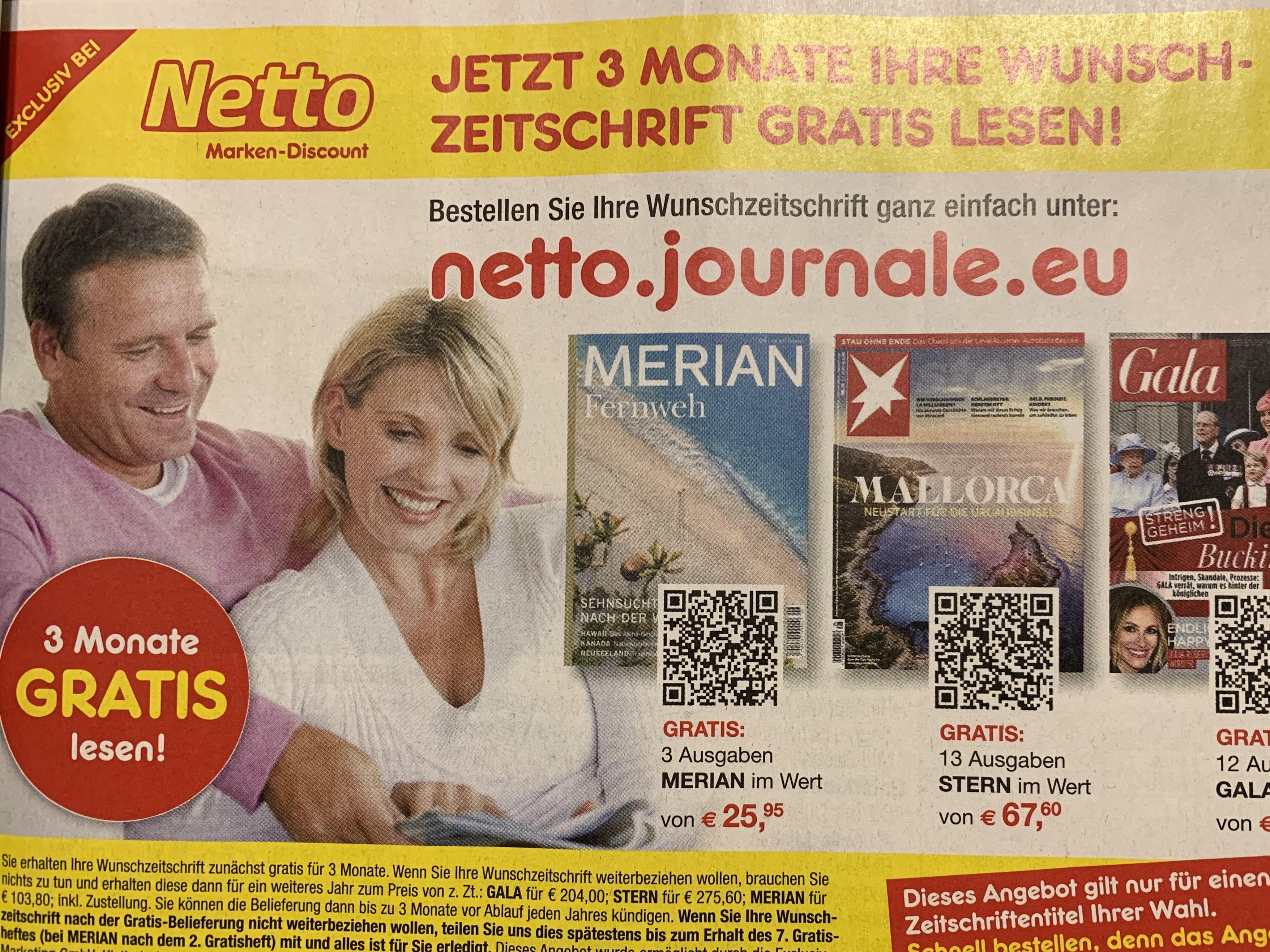 Freebie | Eine von 9 Zeitschriften 3 Monate gratis lesen (z.B. Sport-/ Autobild, Stern, Hörzu) - Kündigung nötig!