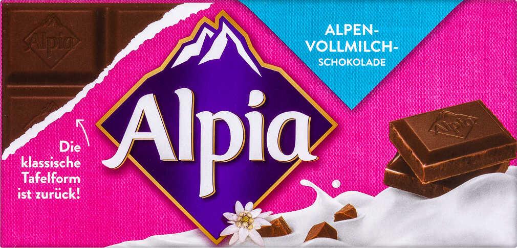 Alpia Schokolade, verschiedene Sorten vom 09.11. - 11.11. für 43 Cent.