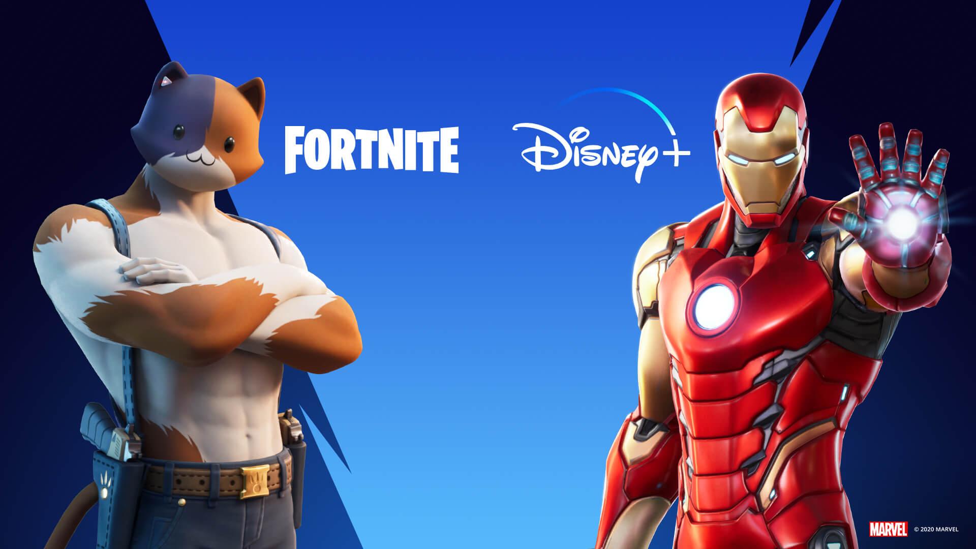 Disney+ 1 Monat kostenlos für Fortnite Gamer, die 2020 etwas im Spiel gekauft haben