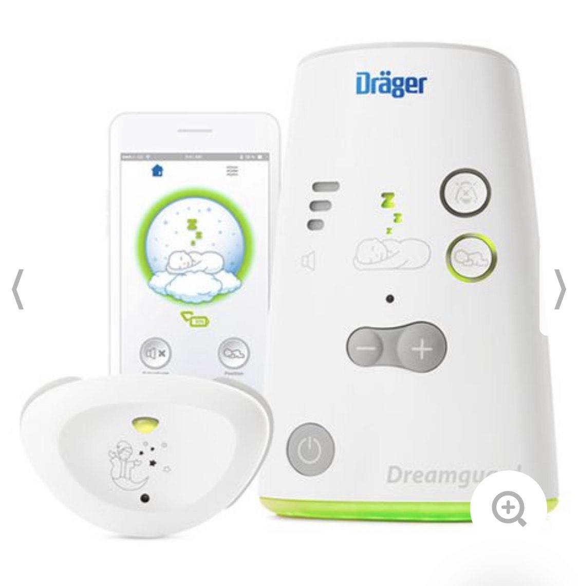 Dräger Dreamguard 3-in-1 Babymonitor mit Atemüberwachung