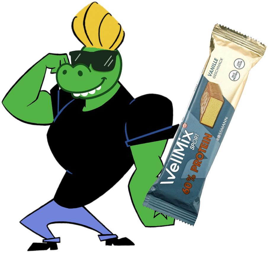 Pumpermarkt [KW46]: z.B. 50g WellMix 60% Proteinriegel Vanille für 0,89€ bzw. 0,80€ per 10% App-Coupon bei Rossmann