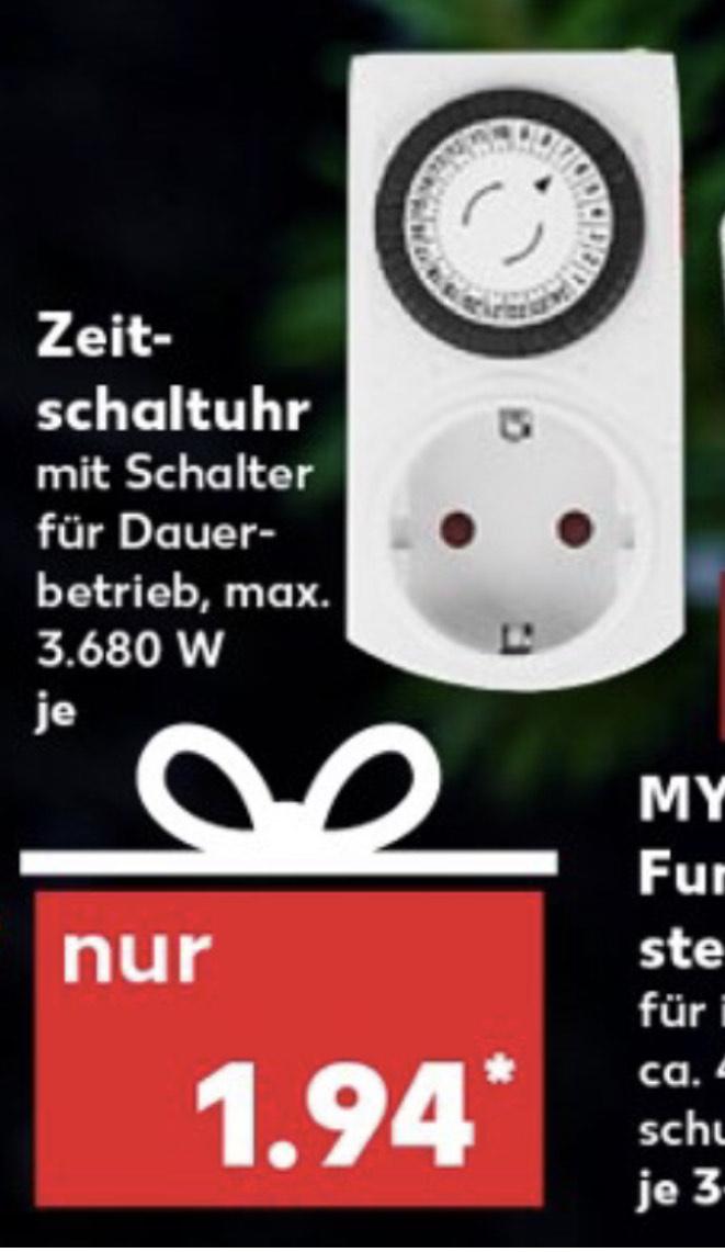 LOKAL - Mechanische Zeitschaltuhr - Kaufland (ab 12.11.)