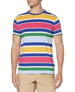 Amazon: GANT Herren T-Shirt Multicolor Gr. L