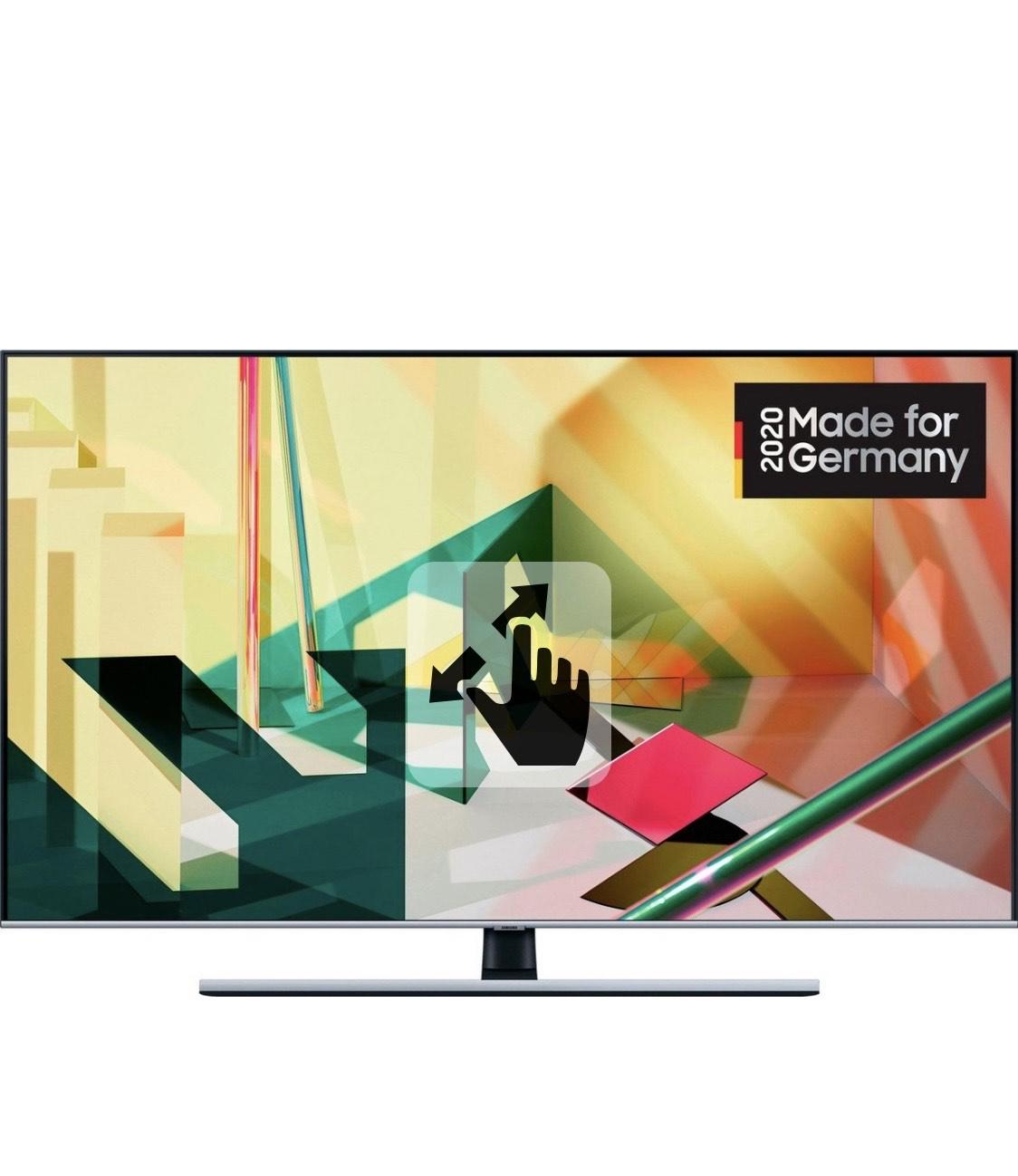 Samsung GQ65Q75T QLED-Fernseher (163 cm/65 Zoll, 4K Ultra HD, Smart-TV) 100 Hz, HDMI 2.1