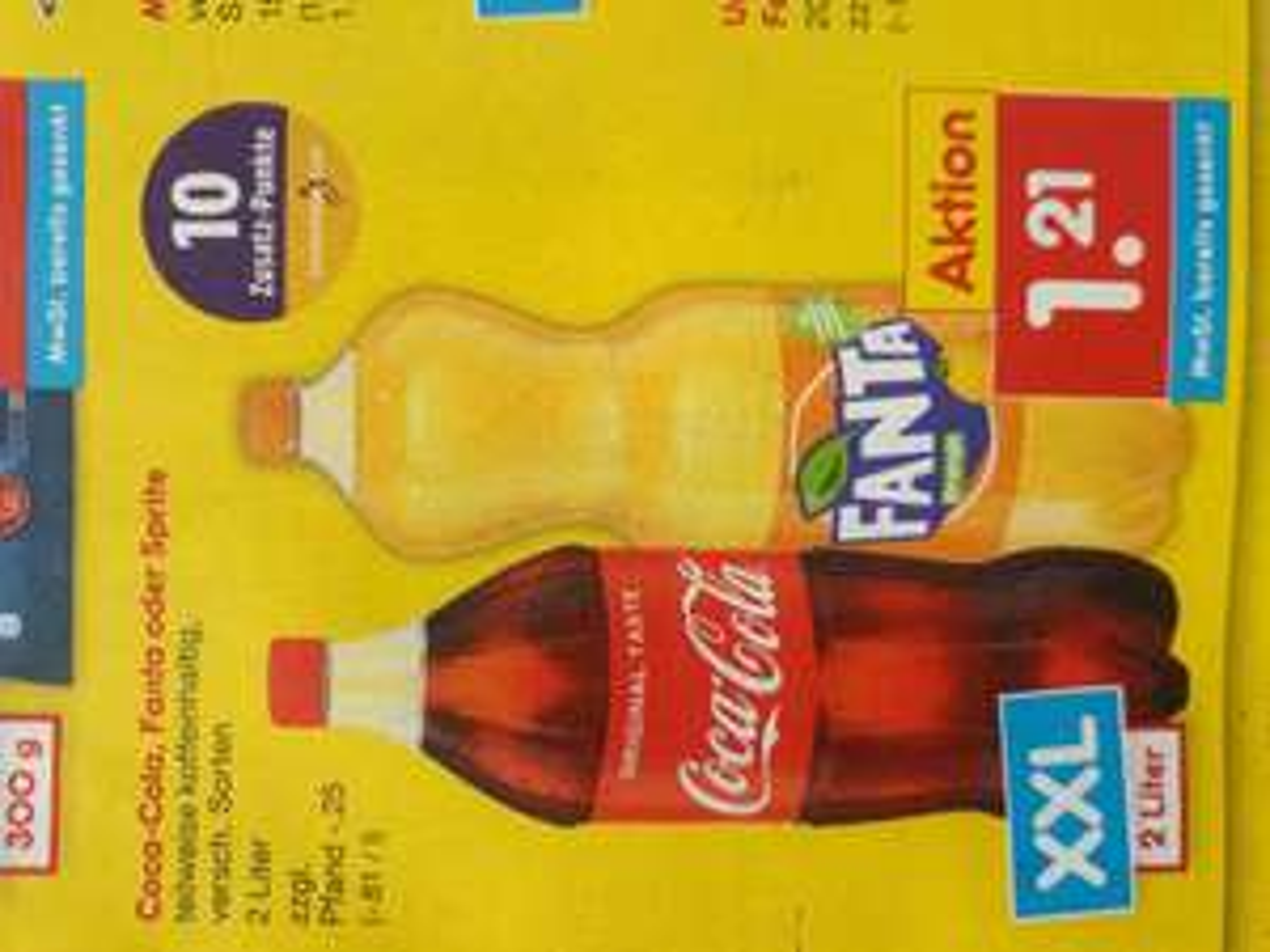 Coca-cola 2 Liter 1.21 € bei Netto