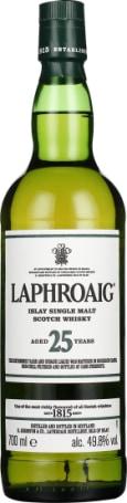 Laphroaig 25 Cask Strength 2020 Edition