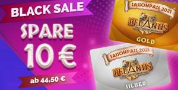 Belantis Saisonpässe Silber im Black Sale (Gold für 59,50 €)