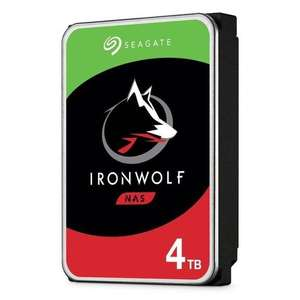 Seagate IronWolf NAS HDD 4TB, SATA 6Gb/s CMR (ST4000VN008) [Saturn]