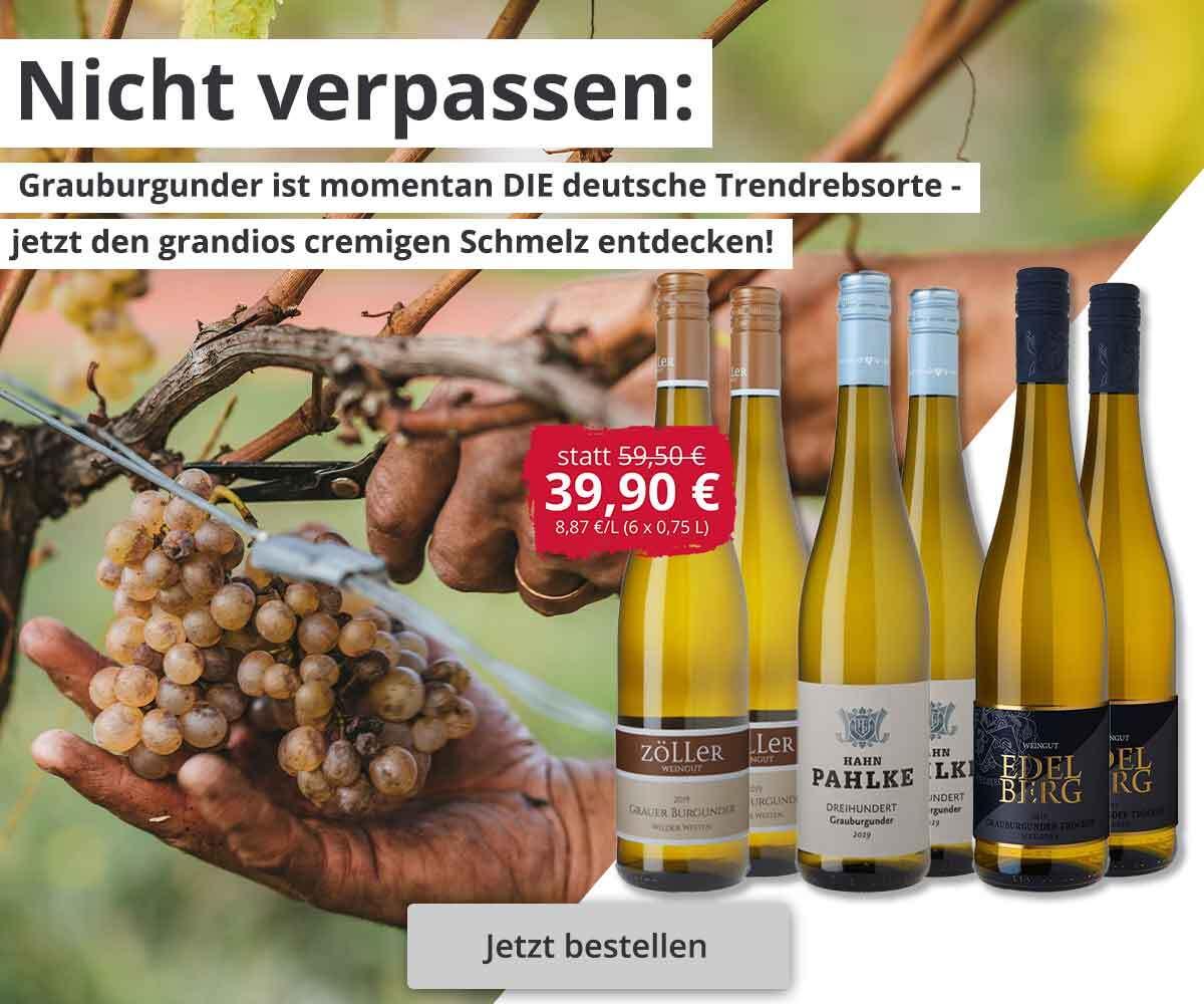 10 Weißweine + 2 Zwiesel Gläser