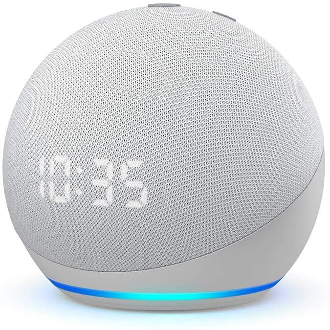 Amazon Echo Dot 4. Generation mit Uhr für 59,21€ / ohne Uhr für 51,46€ inkl. Versandkosten