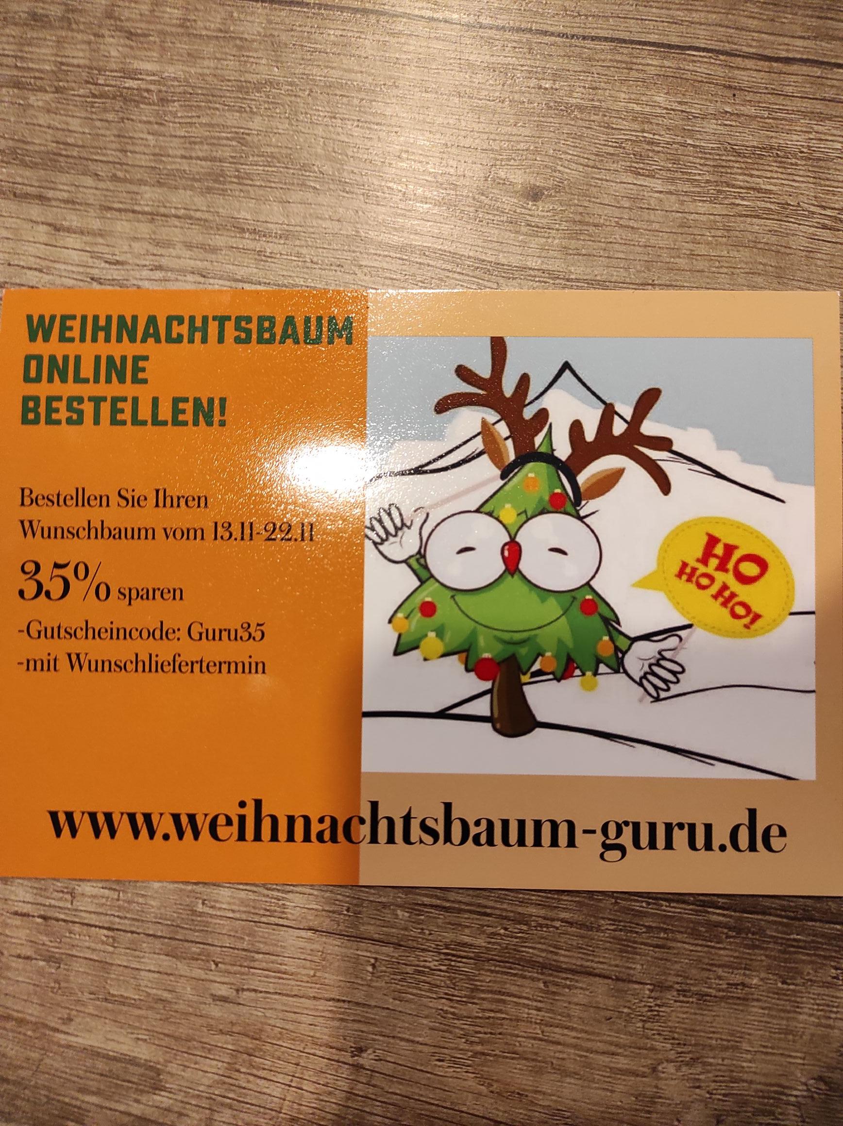 35% Rabatt Weihnachtsbaum Online bestellen mit Wunschliefertermin