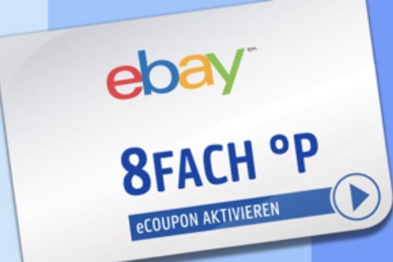 8-fach Payback Punkte bei ebay - bis 11.11.