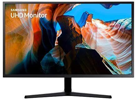 Sammeldeal z.B Samsung U32J592UQU (32 Zoll) Monitor (HDMI, 4ms (G/G), UHD, DP, 3,5 mm Kopfhörer, 3,840 x 2,160 Pixel 270 cd/m²)