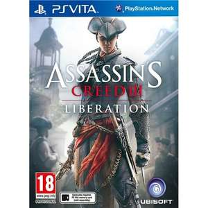 PS Vita - Assassin's Creed 3: Liberation für €26,58 [@Amazon.it]