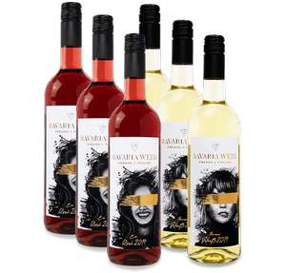 Bavaria Wein-Paket: 3x Rosé und 3x Weiß für 54€ statt 72€ aus Franken