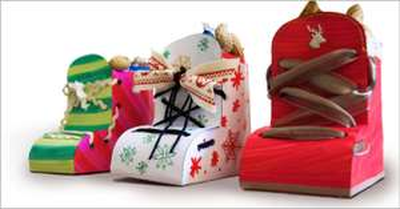 [Globus/Kaufland] Nikolaus-Stiefel basteln und kostenlos befüllen lassen