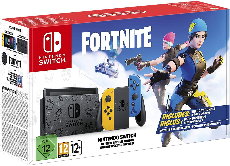 Nintendo Switch Fortnite Special Edition // normale Version für 289,44€