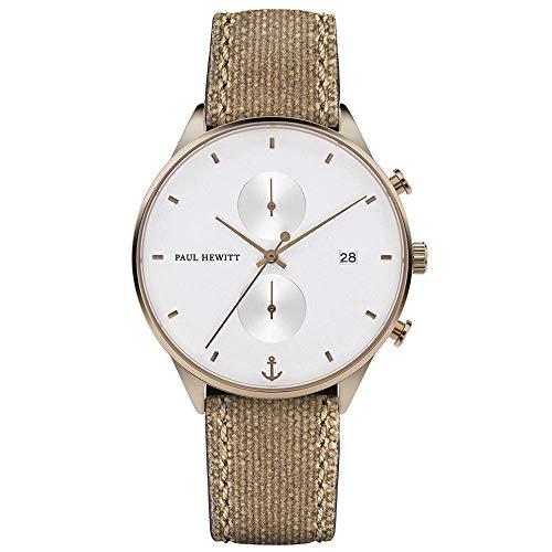Paul Hewitt Chronograph Uhr Männer 42mm
