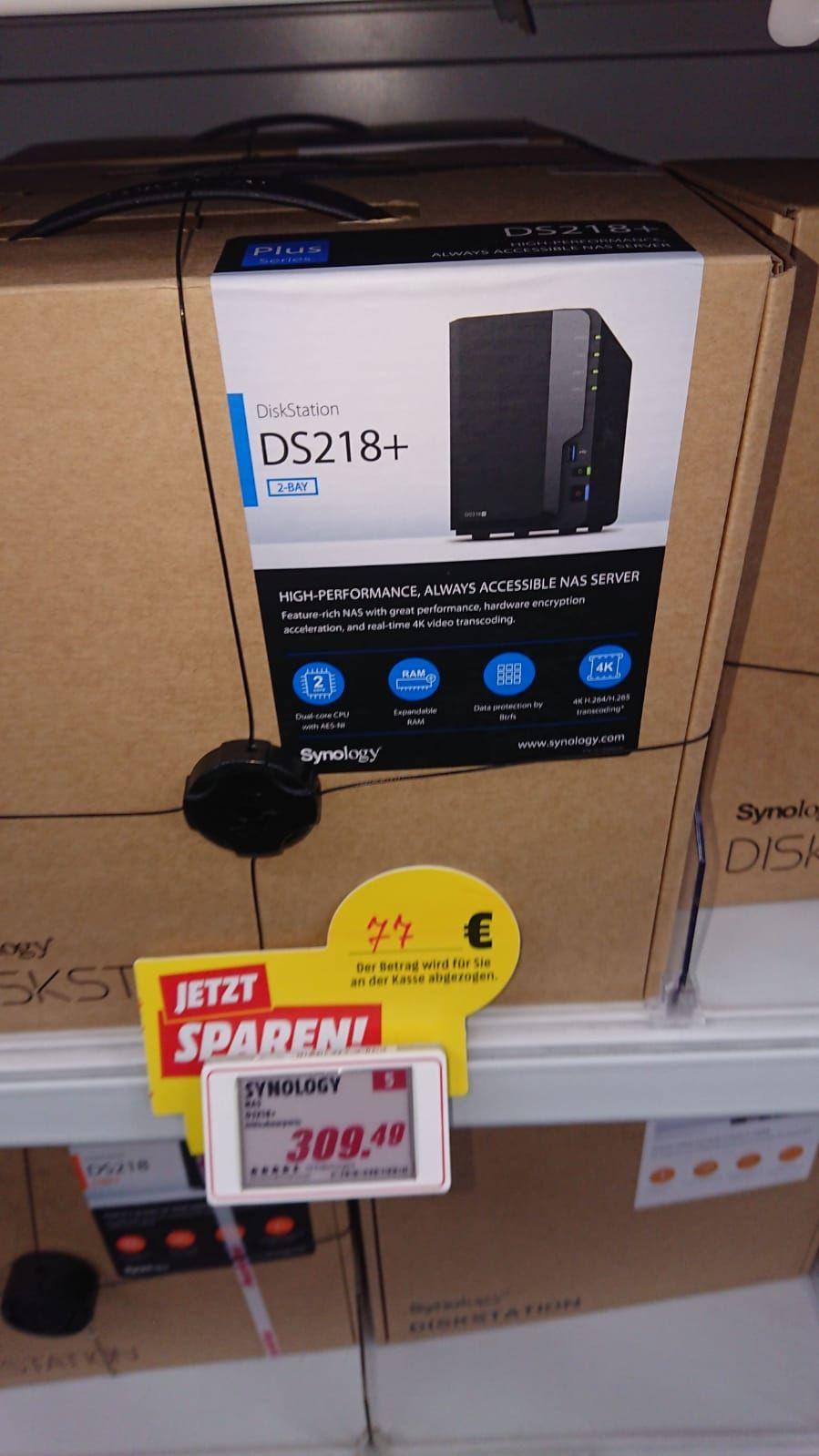 [Lokal Mediamarkt Bonn] NAS Server Synology DiskStation DS218+
