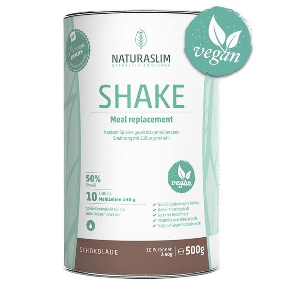 Naturslim 500g veganer Diätshake €7,90 + VSK, ab 3 Stk zusätzlich -10%, ab 6 Stk nochmal -15%