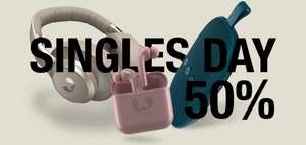 Fresh 'n Rebell Singlesday 50% Rabatt auf Kopfhörer/Bluetooth Speaker