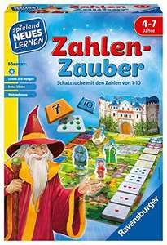 [Amazon Prime] Ravensburger Zahlen-Zauber Schatzsuche mit den Zahlen von 1-10