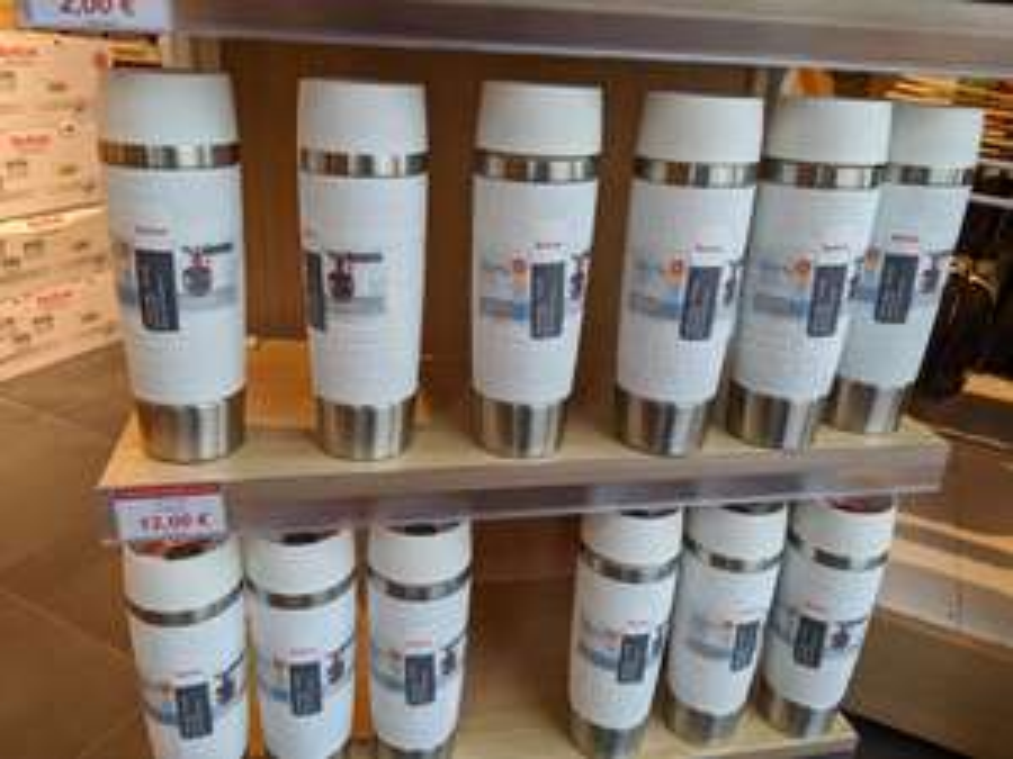 Emsa Travel Mug 500ml weiß @ Factory Outlet Center Ingolstadt