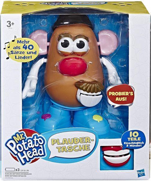 Hasbro E4763100 - Playskool, Mr. Potato Head, Plaudertasche [Bücher.de]