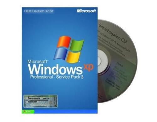 MP OHA: Windows XP Professional 32-Bit inkl. SP3 zu 17,99€