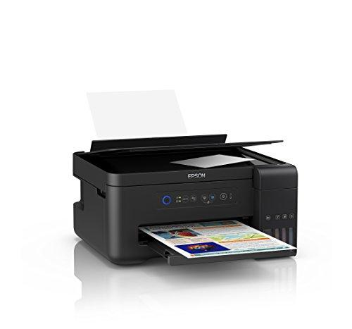 Epson EcoTank ET-2700 nachfüllbares 3-in-1 Tintenstrahl Multifunktionsgerät (Kopierer, Scanner, Drucker, DIN A4, WiFi, USB 2.0)