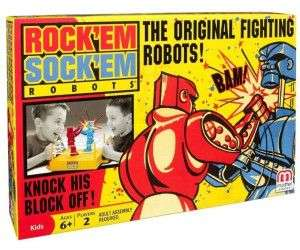 Mattel Games Rock'Em Sock'Em Robots, Amazon Prime