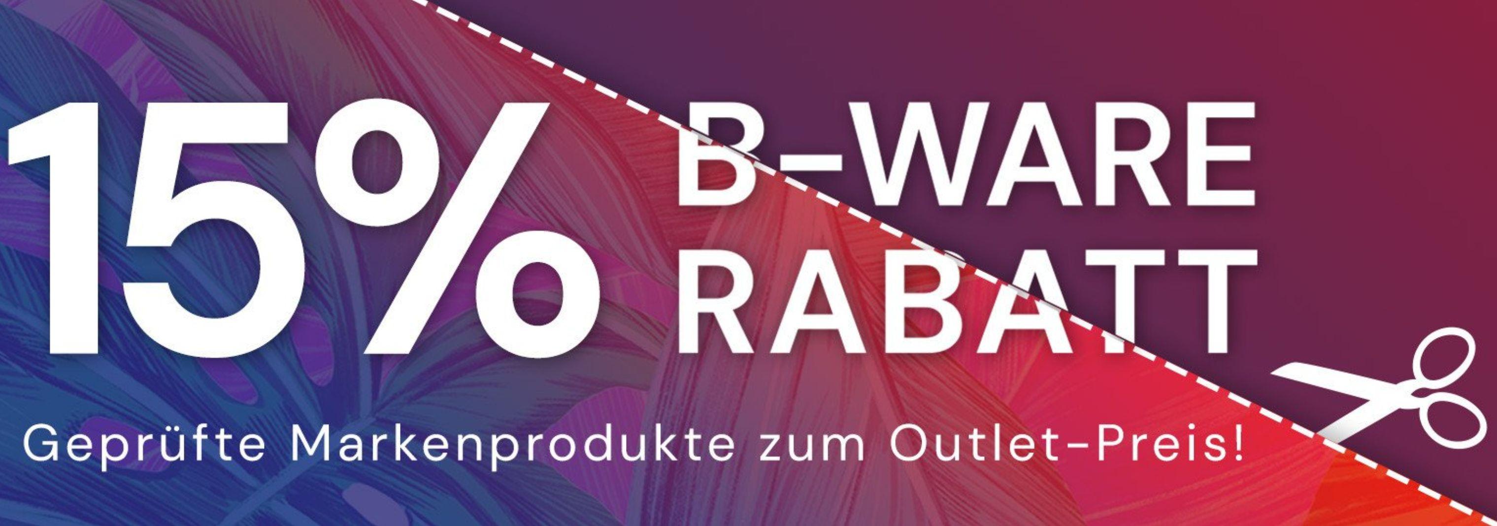 15% auf B-Ware bei Office Partner (Aussteller, Retouren oder Neuware mit beschädigter Verpackung)