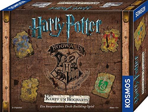 Harry Potter Kampf um Hogwarts - Kooperatives Deck-Building Familienspiel