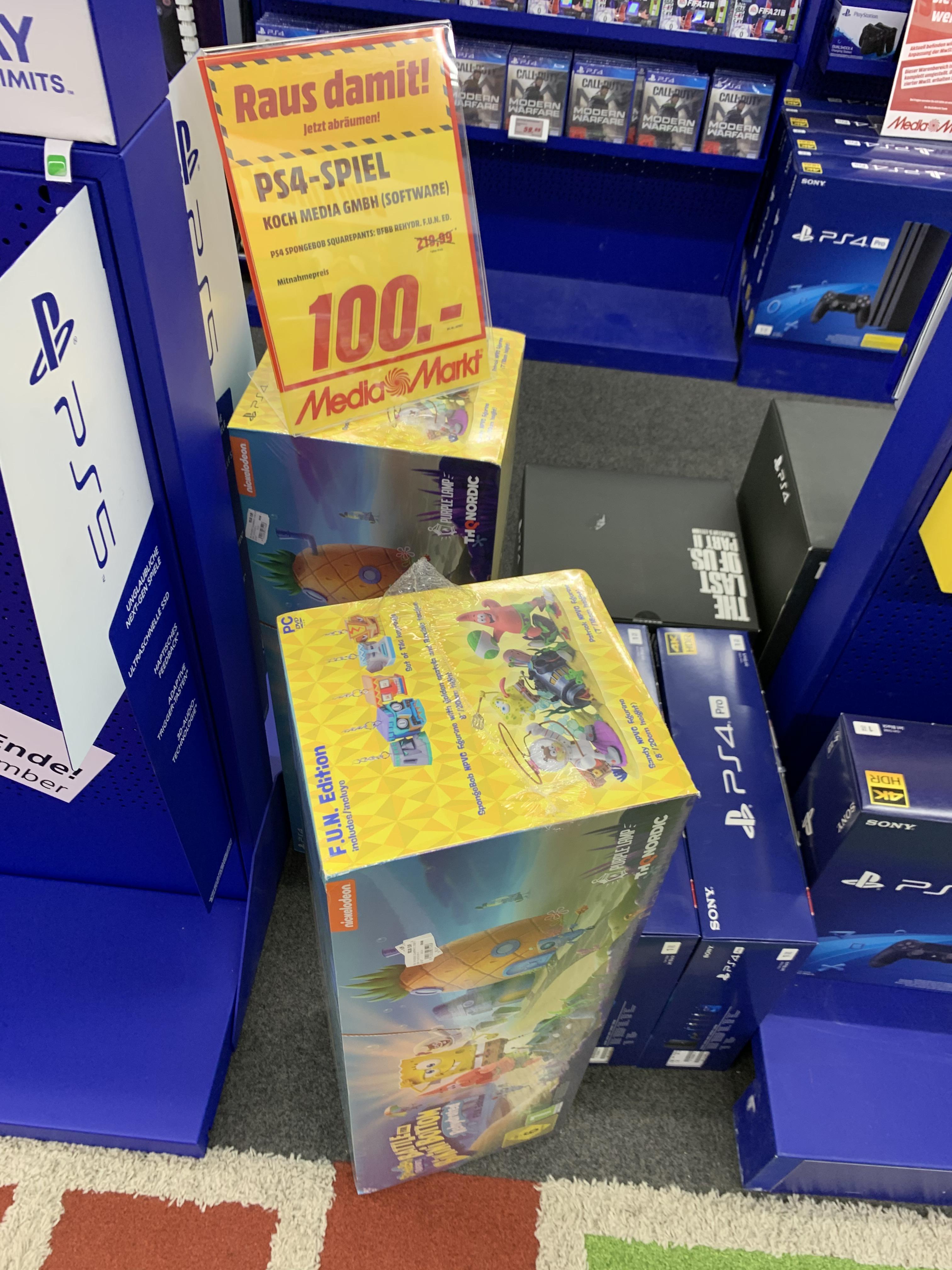 [Media Markt - Krefeld / LOKAL ] Konsolenspiele Sammeldeal / Overwatch Legendary Edition (Switch) - 8,99 €, Trine 4 (PS4) für 9,99€ etc.