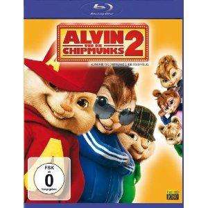 [Amazon] Alvin und die Chipmunks 2 (+ DVD) (inkl. Digital Copy) [Blu-ray] für 9.97€