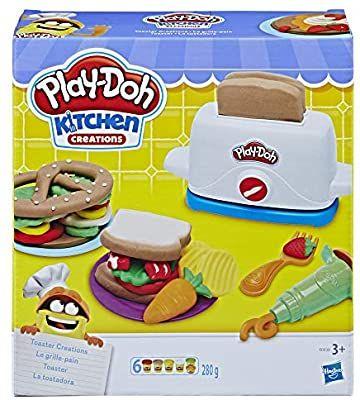Hasbro Play-Doh Toaster Knete, Amazon Prime