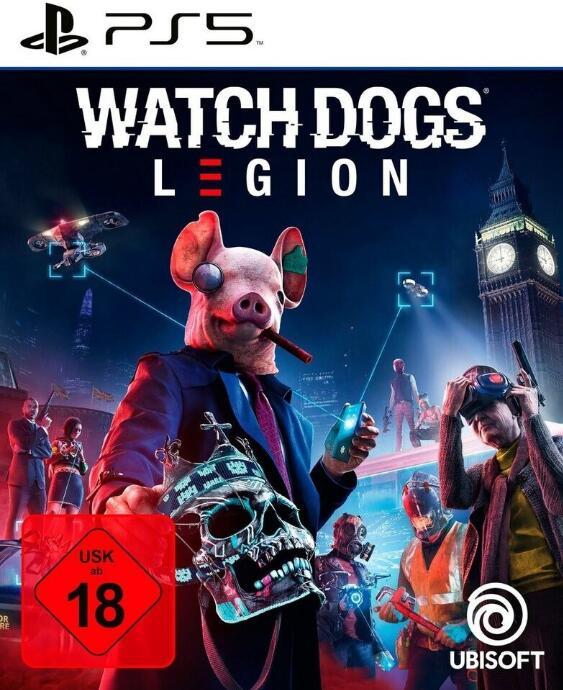 Watch Dogs: Legion (PS5) für 54,85€ (Netgames)