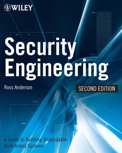 """Buch """"Security Engineering"""" von Ross Anderson kostenlos als pdf"""