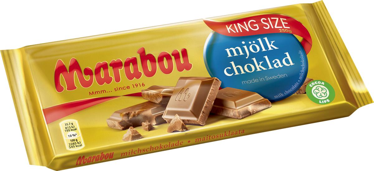 Marabou schwedische Schokolade Kingsize Tafel verschiedene Sorten [Rossmann]