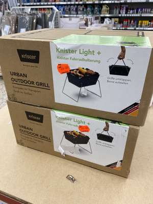 [Lokal Real Wesel]: Knister Grill Light + Fahrradhalterung