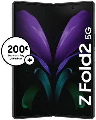 o2 Bestandskunden: Samsung Galaxy Z Fold2 5G (Ratenzahlung), 1015€ effektiv